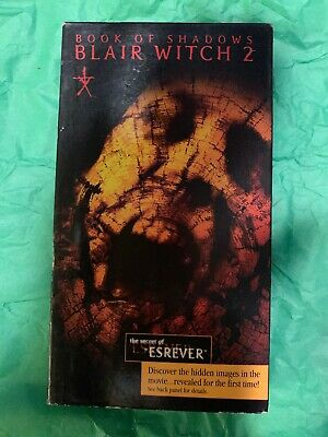 Book of Shadows: Blair Witch 2 (VHS,2000)