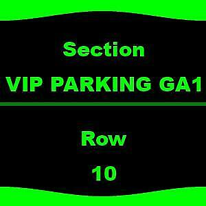 1-1 VIP PARKING GA1 Jason Aldean Tracy Lawrence & Carly Pearce - Parking Passes