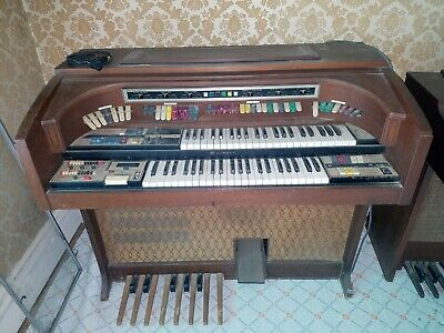 1960 S LOWREY ELECTRIC Organ 140 Watt Theater Spinet