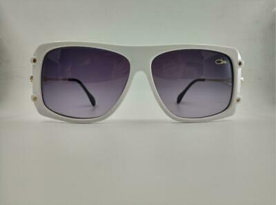 11dacecd1 New Sunglasses Cazal Legends MOD 633 COL 140 White Frame with Grey Gradient  lens