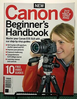 Canon Beginners Handbook Expert Advice Video Guide Issue 3 2019 FREE SHIPPING JB