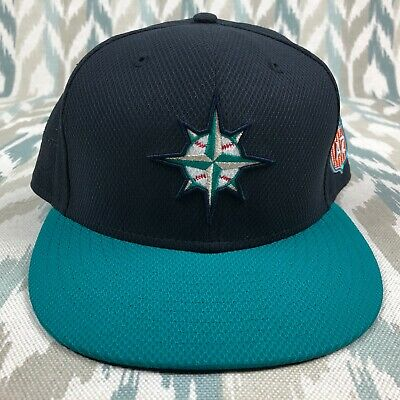 quality design 294ad 740d8 Authentic New Era Seattle Mariners ALT 59Fifty 2016 AZ Fitted Hat MLB Men s  Cap