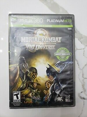 MORTAL KOMBAT VS DC Universe For Xbox 360 Fighting Game Only