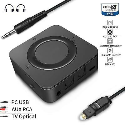 HD BLUETOOTH TRANSMITTER Receiver, 2-in 1 apt-X LL Low Latency