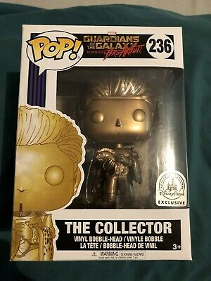 Funko Pop Disney Parks Exclusive Marvel The Collector Gold Guardians Galaxy #236