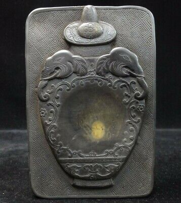 Rare Old Chinese Fine Carving Ink Stone Ink Slab with Mark