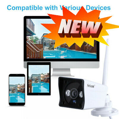Wireless/Wired 1080P HD Wifi Motion Detection IP Cameras TF Slot Night Vision UK