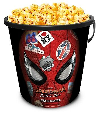 Spider-Man: Far From Home Movie Theater Exclusive 130 oz Popcorn Tub