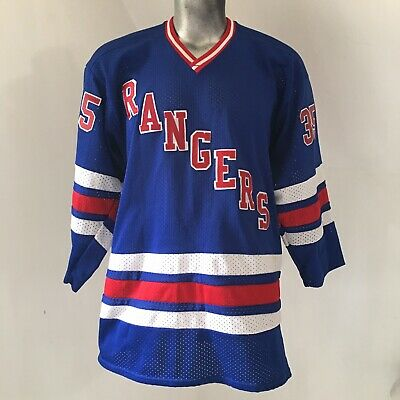 ae09bc6f896739 Venus Blue New York Rangers Mike Richter 35 Mesh Jersey - Size L Large