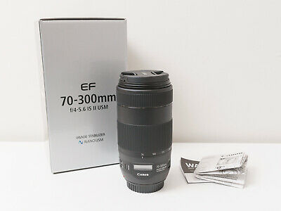 Canon 70-300mm F4-5.6 IS II USM EF Lens ~New Never Used ~$616 with code
