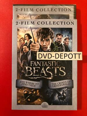 Fantastic Beasts: The Crimes of Grindelwald : And Where to Find Them DVD 2 Film