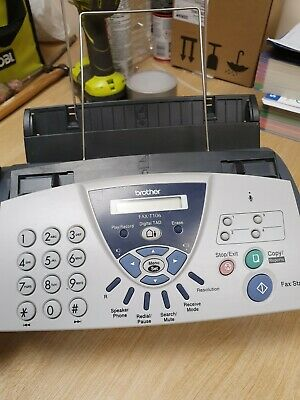 Brother Fax T106 (Digital Answering Machine, Phone & Copier)