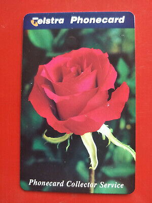 Mint $5  Phonecard Collector Service Rose 97005016P Exp 01/2000