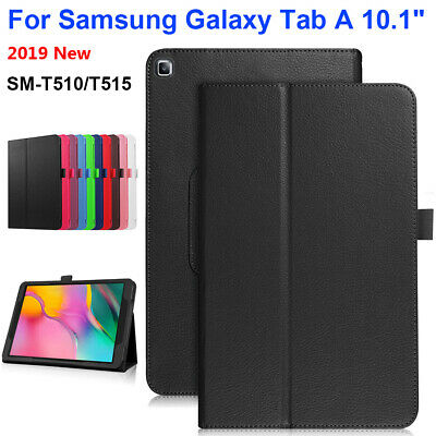 """Case For Samsung Galaxy Tab A 10.1"""" 2019 SM-T510 T515 Tablet Leather Stand Cover"""