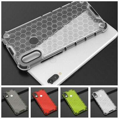 Ultra-thin Hybrid Soft Bumper Honeycomb Case Cover For Xiaomi Redmi Note 7 7 Pro