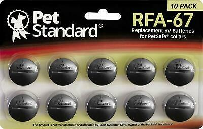 6v Batteries Replacement For Petsafe Rfa 67 Dog Training Shock Collar Reciever
