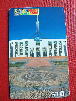 Used EziPhone $210 Parliament House Canberra Phonecard