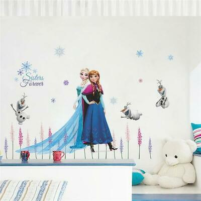 KINDER WANDTATTOO DISNEY Frozen Friends Aufkleber Wandsticker ...
