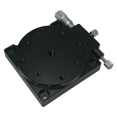 RS60 L/R-axis Rotary Trimming Platform Bearing Tuning Sliding Table adjust 360°