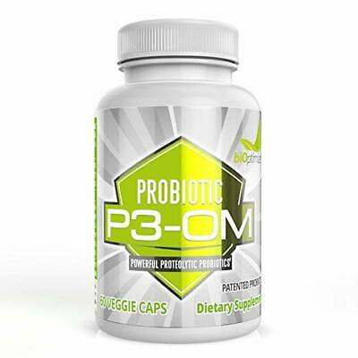 BiOptimizers P3-OM - Friendly and Ferocious Probiotic for Women and Men