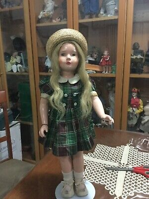 "Vintage Effanbee "" American Children"" full Composition doll 1939, 54cm ht"