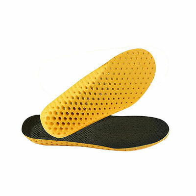 1 Pair of Unisex Premium Orthotic Shoes Insoles Insert High Arch Support Pad