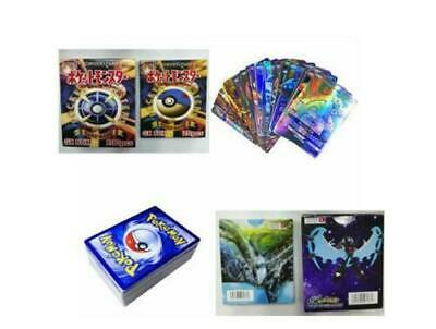120pcs Pokemon Cards 115 GX + 5 MEGA Booster Box English Edition Break Point 2A