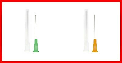 Needle Cycle Injection 20x 21G GREEN + 20X 25G ORANGE + SWABS BD Microlance™ 3