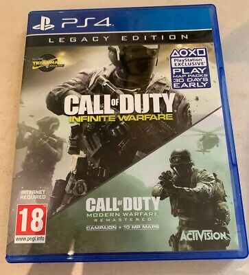 Call Of Duty Infinite Warfare Legacy Edition Playstation 4 PS4 Game