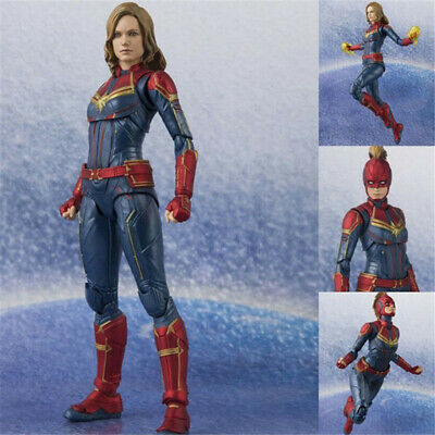 6'' Avengers Endgame Captain Marvel Figure S.H.Figuarts Collectible Toy In Box