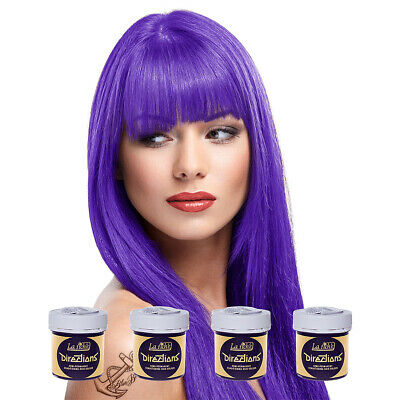 La Riche Directions Violet Semi-Permanent Colour Hair Dye Kit 4 Pack 88ml