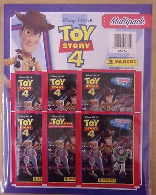 Disney Pixar Toy Story 4 ~ Panini Sticker & Game Card Collection ~ Multipack