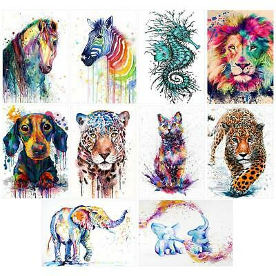 5D DIY Full Drill Diamond Painting Animal Cross Stitch Embroidery Art Kit  L&6