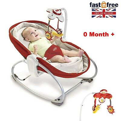 Baby Swing Infant Cradle Electric Music Rocker Bouncer Vibration Chair Toy Seat