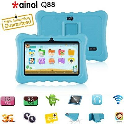 7'' Ainol Q88 Kids Tablet PC 1G+8GB Android 7.1 3G Wifi BT For Kids Education UK