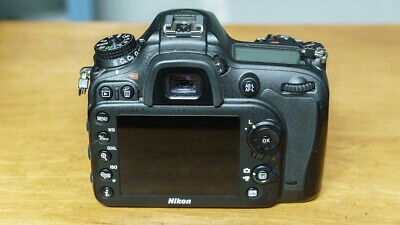 Nikon D D7200 24.2 MP Digital SLR Camera Black (Body Only)