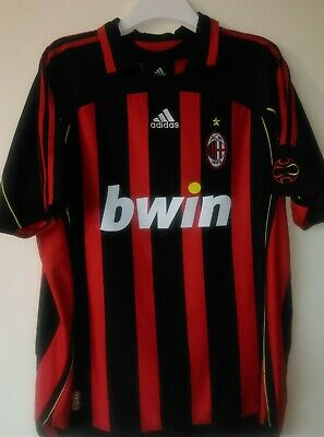 Ac Milan Italy 2006/2007 Home Football Shirt Jersey Maglia Adidas Rare Xl Retro