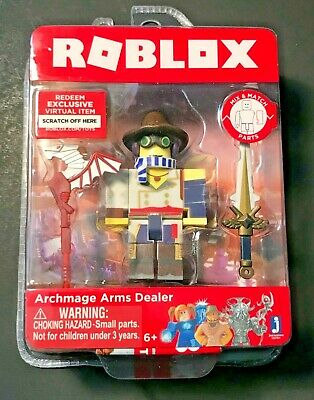ROBLOX SERIES 3 4 ARCHMAGE ARMS DEALER Core Pack Mix & Match