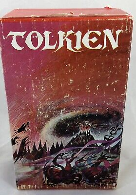 JRR Tolkien Lord of the Rings  Vintage Paperback Boxed Set 1969 Ballantine 1965