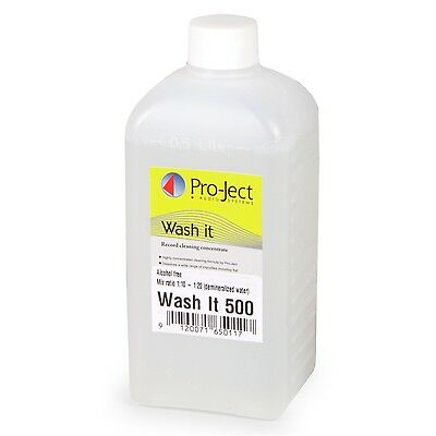 Pro-Ject Wash It Cleaning Fluid for Record Cleaning Machine VC-S 500ml New!