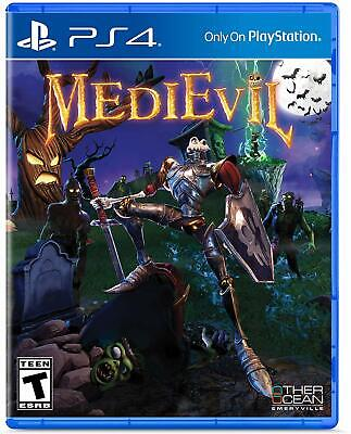 Medievil Ps4 New! Knight, Playstation Ps1 Slash Adventure Classic Remake!