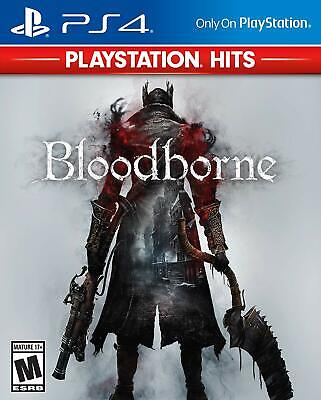 Bloodborne PlayStation Hits (PlayStation 4, 2018) BRAND NEW
