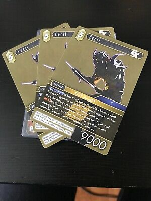 Cecil EX Opus V Legendary FINAL FANTASY TCG FFTCG 5-086L Card
