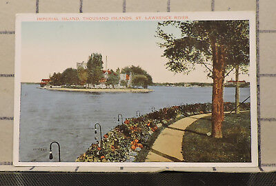Imperial Island Thousand Islands St Lawrence River vintage POSTCARD PC176