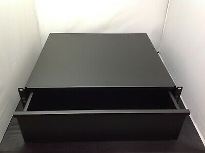"NEW KENDALL HOWARD 3U 19"" Rack Mount Drawer - NO lock included"