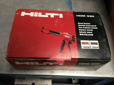 Hilti HDM 330 adhesive dispenser New in Box with manual