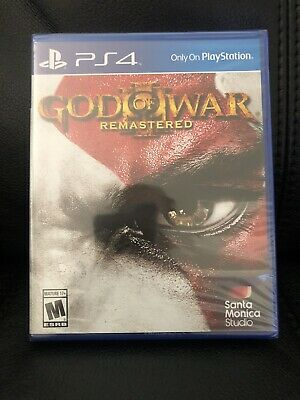 God of War 3 Remastered  (PS4) Brand New Sealed