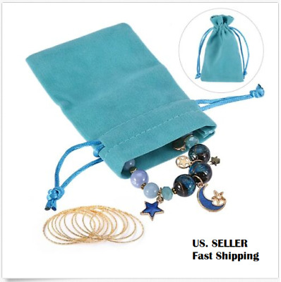 Velvet Drawstring Pouch Gift Packing Jewelry Wedding Favor Pouches Party Bags