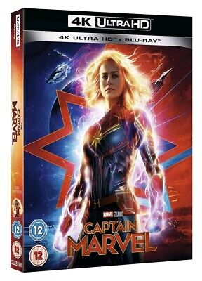 Captain Marvel (Bluray 4K) Includes 2D Bluray