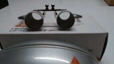 Binocular-Loupe Heine 2.3x 450mm New Old Stock. Dentist Hygenists loupe